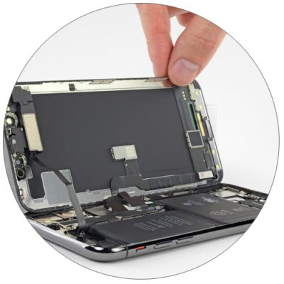 Замена дисплейного модуля iPhone X
