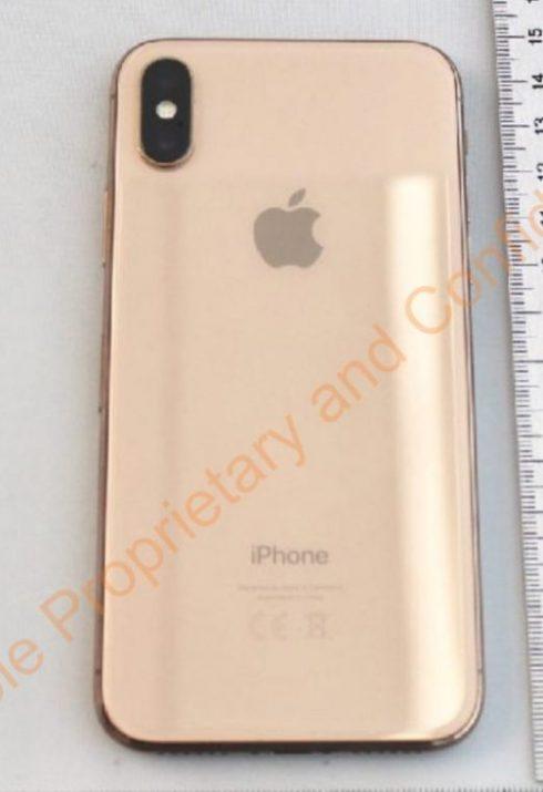 Золотой iPhone X в цвете Blush Gold