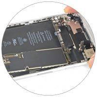 Восстановление или замена компонентов платы iPhone 8