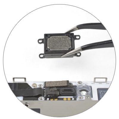 Чистка динамика/микрофона iPhone 8 (со вскрытием устройства)