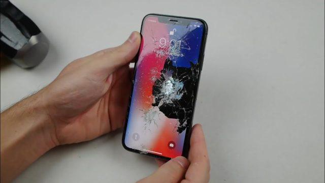 Разбился iPhone X